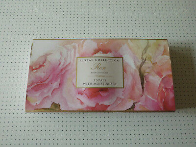 Marks & Spencer Floral Collection Rose, Rosa Centifolia 3x75g