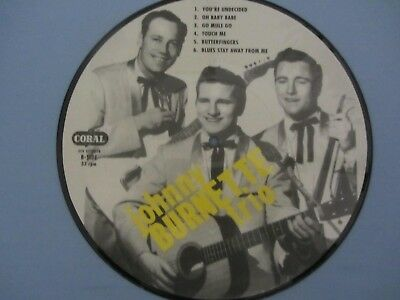 "10"" / 25cm PICTURE DISC *** JOHNNY BURNETTE ROCK 'N' ROLL TRIO"