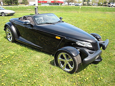2000 Plymouth Prowler  2000 Plymouth Prowler - 3,261 Miles- Black- Private Collection Sell off: $27K