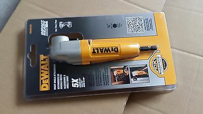 DEWALT DWARA100 Right Angle Adapter Attachment, 5X longer life