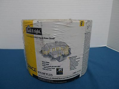 "Grace Vycor Plus Self-Adhered Flashing Tape - 6"" x 75'"" - 1 Roll"