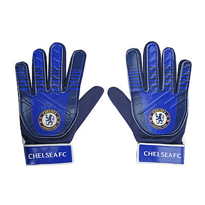 Chelsea FC Official Football Gift Kids Youths Goalkeeper Goalie Gloves
