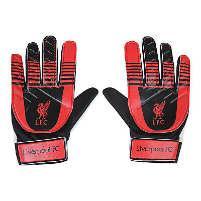 Liverpool FC Official Football Gift Kids Youths Goalkeeper Goalie Gloves