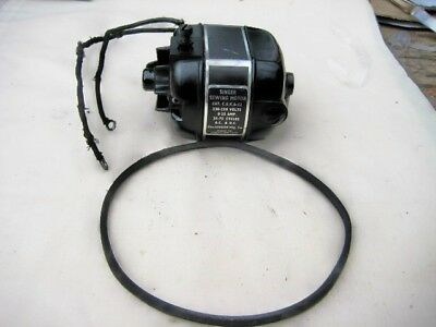 221  Singer  Featherweight Motor With Used Belt 240 Volts