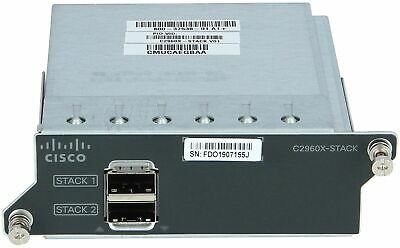 CISCO - C2960X-STACK= - FlexStack-Plus hot-swappable stacking module