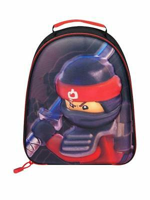 Lego Ninjago Kai Red 3D Lunch Bag Backpack Kids School Outdoor Trips Official