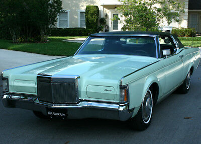 1971 Lincoln Mark Series III COUPE - RARE COLOR - 71K MI IMMACULATE HARD TO FIND SURVIVOR  - 1971 Lincoln Mark III Coupe - 71K ORIG MI