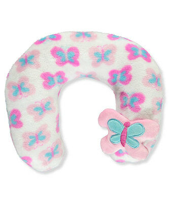"Cribmates Baby Girls' ""Butterfly Time"" Neck Pillow"