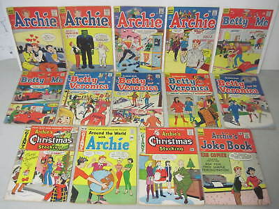 Lot Of 107 Archie Comics Betty & Veronica Jughead Laugh Life With Archie Pep