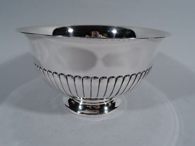 Cartier Bowl - 232 - Midcentury Modern Classical - American Sterling Silver