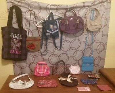 Girl Purses & wallets Lot of 16- Old Navy, Victoria's Secret, Barbie, mudd, More