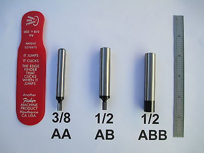 Audible Edge Finder  By Fisher  3/8 Or 1/2 Shank Usa