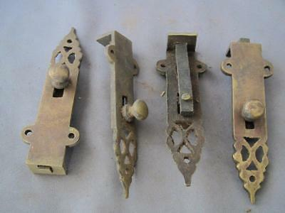 4 Decorative solid brass bolts