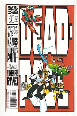 Deadpool: The Circle Chase #3 (Oct 1993) NM 9.4 1st Deadpool miniseries