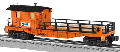 Lionel 6-82095 Amtrak Tie Work Car O Gauge Model Trains Railroads