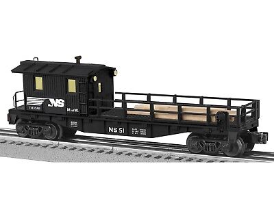Lionel 6-82094 Norfolk Southern Tie Work Car O Gauge Model Trains Railroads