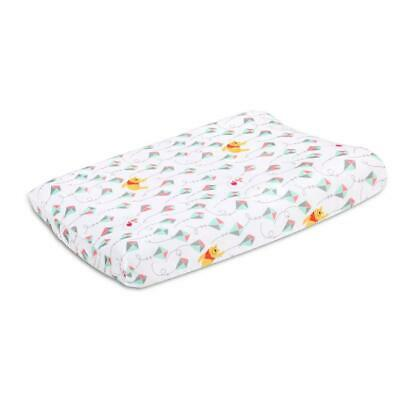 Disney Baby Pooh Fly A Kite Changing Pad Cover Free Shipping!