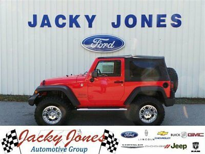 2013 Jeep Wrangler Sport 2013 Jeep Wrangler, Red with 24,494 Miles available now!