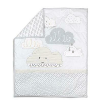 Little Haven In The Clouds Cot Quilt Free Shipping!