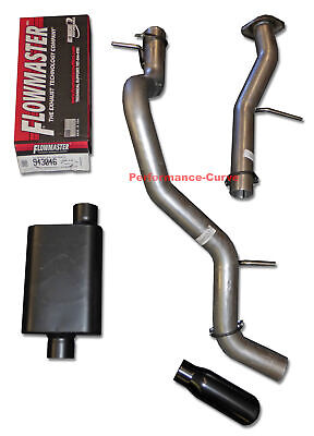 "07-15 Chevy Silverado Truck 3/"" Single Exhaust Kit Flowmaster 50 Delta Flow"
