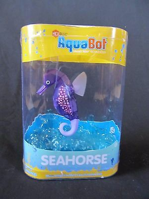 HEXBUG AquaBot Light-Up Robotic Seahorse Smart Fish Technology NEW -Purple-