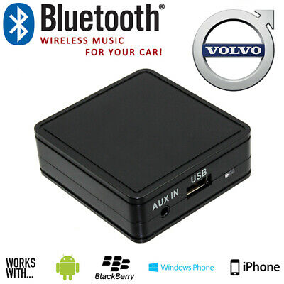 Volvo Car Bluetooth Music Streaming With Aux Interface Adaptor For Mobile Phones