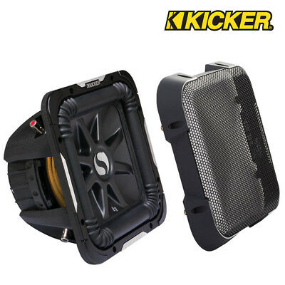 """Kicker GL7100 10"""" Solobaric Subwoofer Grill Grille Speaker Cover"""