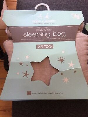 Aden Anais Cozy Plus Sleeping Bag - Taupe/beige Large (12 - 18 Months) Nwt