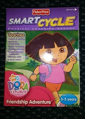 Smart Cycle Dora Software Cartridge Physical Arcade New in Pkg Fisher Price