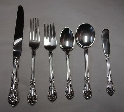 Alvin Silver CHATEAU ROSE Choice Silverware Piece STERLING Flatware NO MONOGRAMS