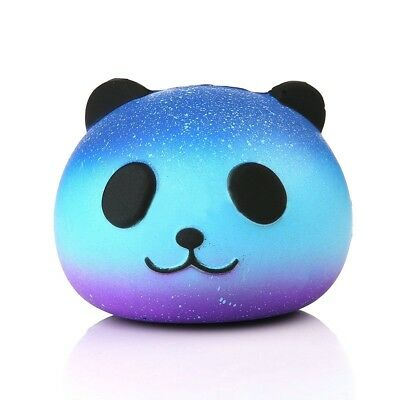 8CM Panda Cream Scented Squishy Slow Rising Squeeze Kid Toy Phone Charm Gift New