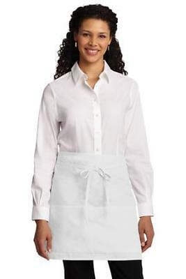 Port Authority Easy Care Half Bistro Apron with Stain Release A706