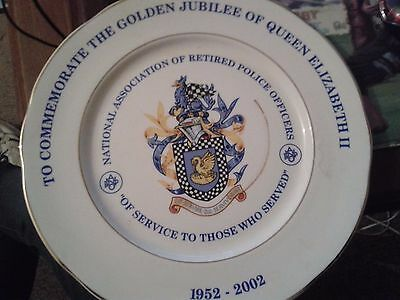 National Association of Retired Police Officers Limited Edition Plate