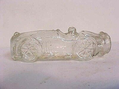Racing Car & Driver Candy Container V. G. Co.jeannette Pa U.s.a.