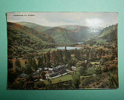 Postcard Glendalough Co Wicklow, Ireland. Posted 1959.