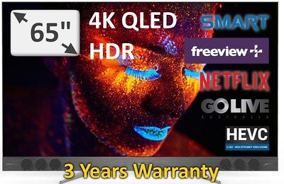 "TCL 65"" Top of the Range Quantum Dot QLED UHD HDR 2017 Model: 65X2US Android TV"