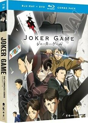 Joker Game: The Complete Series - 4 DISC SET (REGION A Blu-ray New)