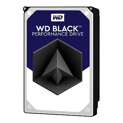"WD Black 3.5"" Internal Desktop HDD 500GB/1TB/2TB/4TB/6TB SATA3 64-128MB"