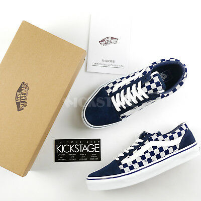 4de13f8f2a940d Vans Old Skool V36CL Style 36 Japan Indigo Blue Checkerboard Pack ASIA  EXCLUSIVE