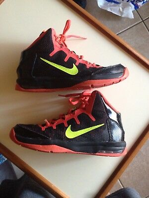 Nike Air Without A Doubt Boys Size 4.5y Basketball Shoes Crimson Black  Lebron 6f8ff1295