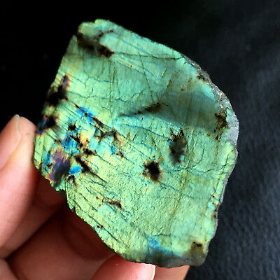 46g Top!Labradorite Crystal Stone Natural Rough Mineral Specimen A9392