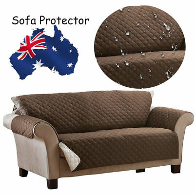 Waterproof Reversible Quilted Sofa Protector Cover Slipcover Pet Dog Couch Mat