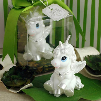 Kids Children Unicorn Horse Birthday Party Cake Topper Decoration Candles