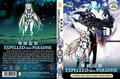 ANIME DVD~Expelled From Paradise~English subtitle&All region FREE SHIPPING+GIFT