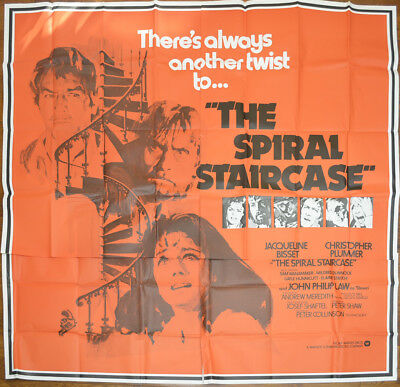 THE SPIRAL STAIRCASE (1975) Cinema 6 Sheet Film Poster - Jacqueline Bisset