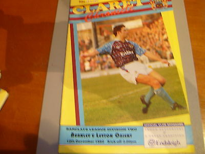Burnley v Orient 92/93