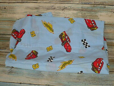 "Disney Cars Lightning McQueen Window Curtain Valance 84"" x 16"""