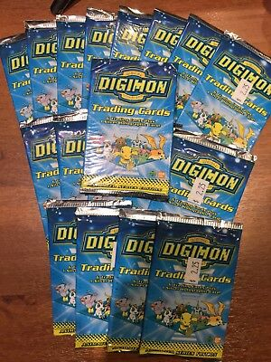 Digimon Booster Pack 1999 Sealed BAN-DAI #2