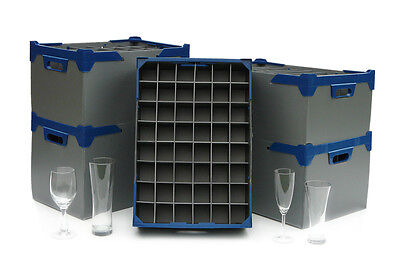 Wine, Champagne and Pint Glass Storage Boxes, Glassjacks Various Sizes