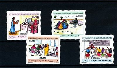 Mauritania 2000 Knowledge For All Education Computer School Scare Africa Set